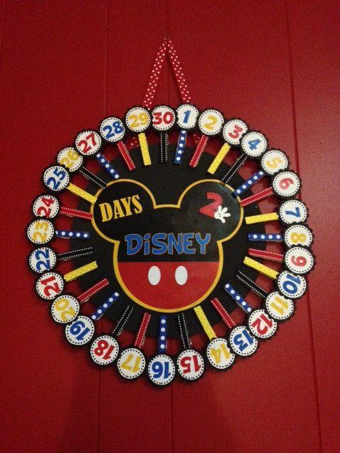 Days-2-Disney Countdown Calendar Disney Countdown by bkstudio