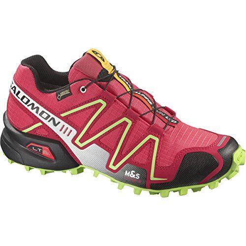 Salomon Damen Laufschuhe rot 6 - http://on-line-kaufen.de/salomon/6-salomon-speedcross-3-gtx-damen-traillaufschuhe