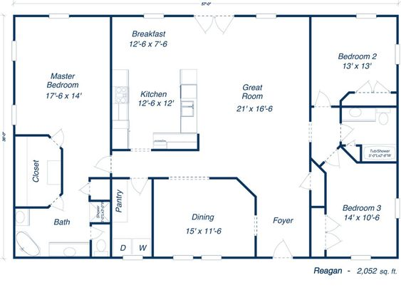 reagan house plans | Our Plans - The SIP KIT | Home - needs some modification, but a good basic plan