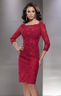 Lace Tulle Dress by Social Occasions by Mon Cheri 214847
