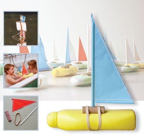 Bottle Boat by Floris Hovers