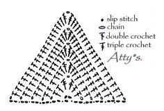 atty's: Crochet Diamond Motif Pattern