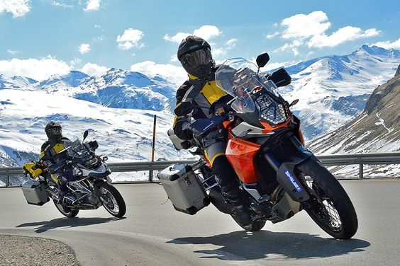 Touratech-Canada & 1190 in the Alps