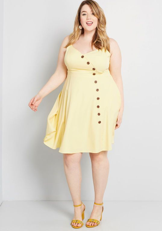 Sentimental Special Sleeveless Dress | Plus size dresses ...