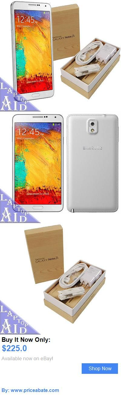 cell phones: New Factory Gsm Unlocked Samsung Galaxy Note 3 Sm-N900v 32Gb White In Open Box BUY IT NOW ONLY: $225.0 #priceabatecellphones OR #priceabate