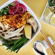 Xoi Man Sticky Rice Recipe with Chinese Sausage, Chicken, Shrimp