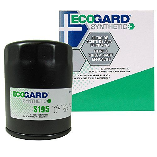 Ecogard S195 Spin On Engine Oil Filter For Synthetic Oil Premium