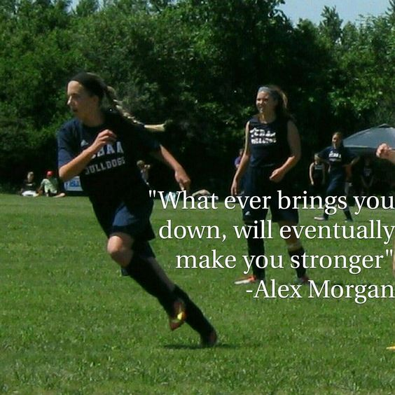 Advise for my soccer player.