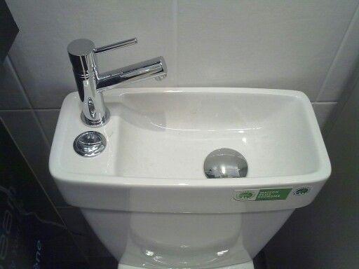 lave mains sur la chasse d 39 eau pour conomiser l 39 eau du r servoir mod le japonais trucs et. Black Bedroom Furniture Sets. Home Design Ideas