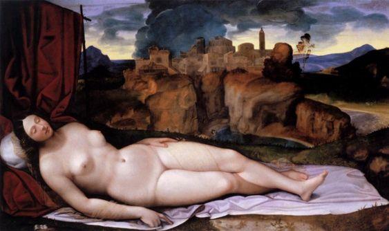 Girolamo da Treviso - Sleeping Venus