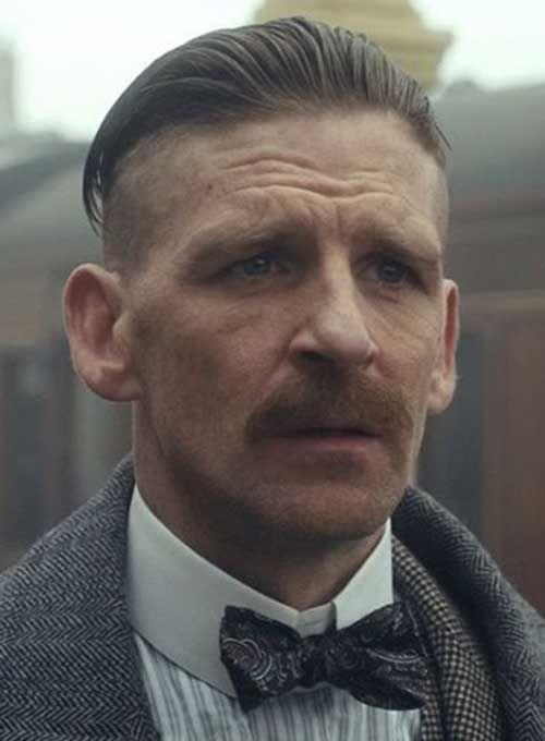 Peaky Blinder Haircut Arthur