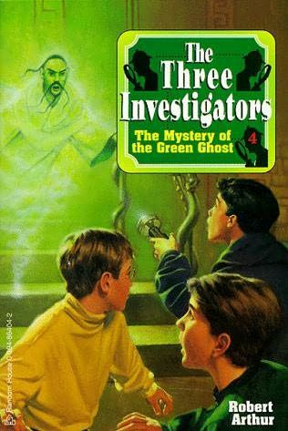 A green ghost oozes through the walls of a crumbling old mansion, leading The Three Investigators to an open coffin and a grinning skeleton wearing a string of priceless Chinese Ghost Pearls. When the ghost disappears--along with the pearls--the sleuths are off on their strangest case ever!