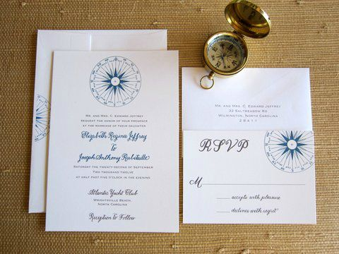 Compass Rose Invitation Theme