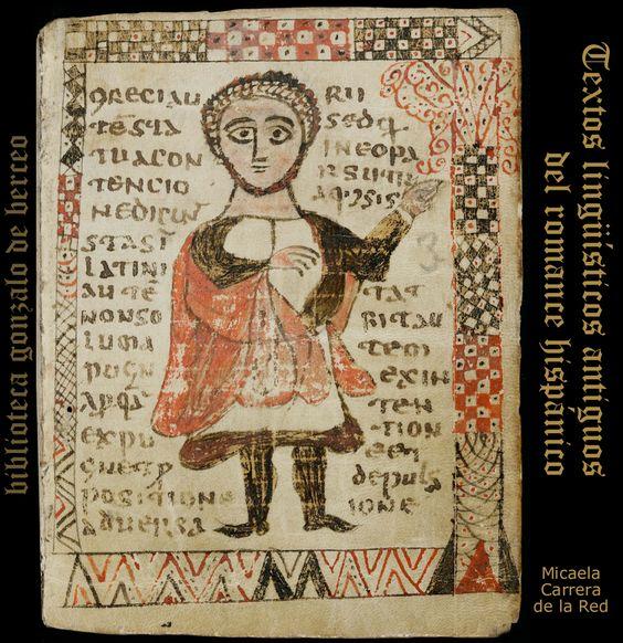 Códice  912 de San Gall en Suiza. Siglo VIII. Reproducimos imágenes de los folios 3,49 y 320. Para más  información seguir enlace