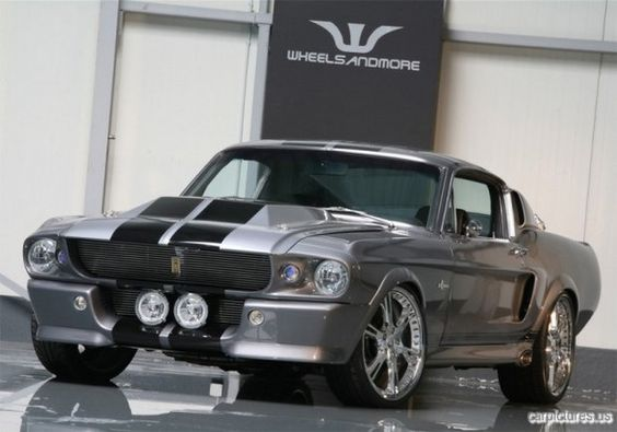 1967 Ford Mustang 'Eleanor' (Shelby GT 500) from Gone In 60 Seconds #Mustang