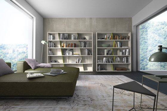 Schön Moderne Wandregale Wohnzimmer Gelbe Akzente Modulare Wandregal Designs  Presotto Moderne Wandregale Wohnzimmer | Startseite | Pinterest |  Startseiten