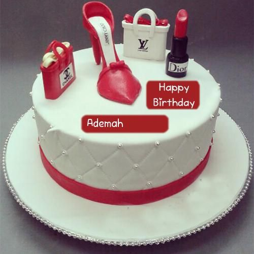 Fashion Birthday Cake Girlfriend Name Wishes Pictures With Images