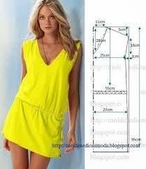 Картинки по запросу простые выкройки платьев