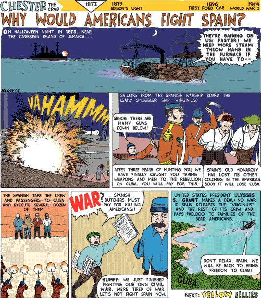 This Is A Great Webquest Activity For The SpanishAmerican War - Us history map activities spanish american war