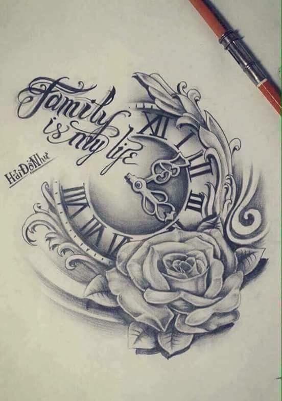 Clock Tattoo Ideas Golden Canvas Tattoo Art Studio Watch Tattoos Tattoos New Tattoos