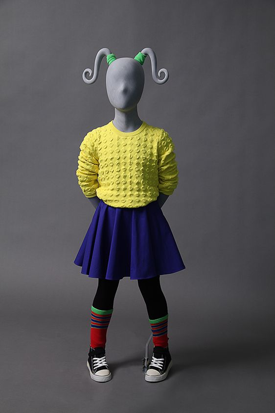 CG6.1 is an adorable 6 year old girl mannequin with removable pigtails