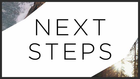 próximos passos
