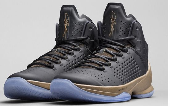 Carmelo Anthony's 11s. I know the silhouette of the Melos are somewhat awkward, but trust me... Try a pair on. You won't be disappointed. They look much better on feet and in person.