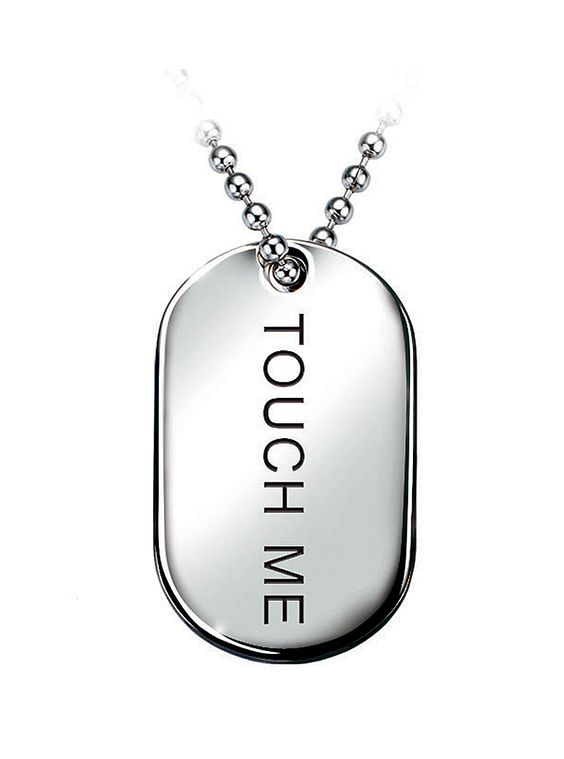 bruno banani Army Kette - touch me