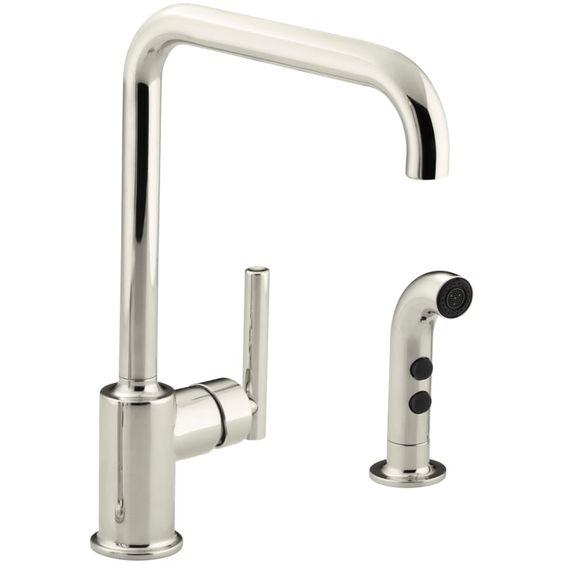 Kohler K 7508 Kitchen Sink Faucets Sink Faucets Kohler Purist