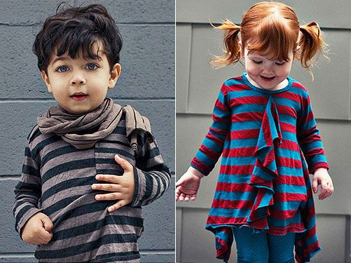 Here's a new fashion revelation for children: the fall/winter collection ...