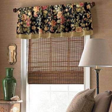 American living charlotte rod pocket valance found at - Jcpenney bathroom window curtains ...