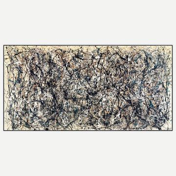 Jackson Pollock / One Number 31 Print now featured on Fab.