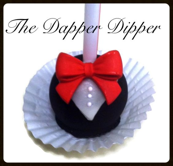 Groom Cake Pop by The Dapper Dipper on Etsy