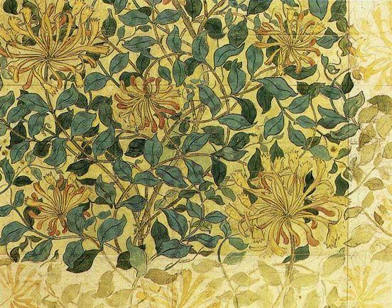 """William Morris """"Honeysuckle"""""""