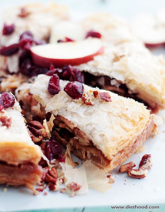 Apple Strudel Cake Recipe - RecipeChart.com