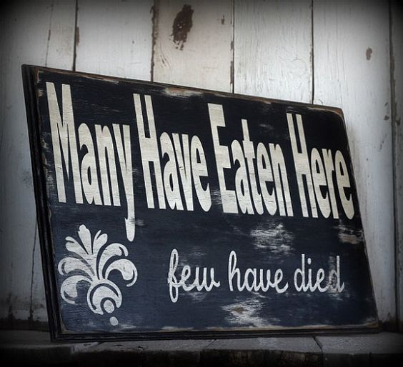 Painted and distressed wood sign  Rustic Home by MannMadeDesigns4, $55.00