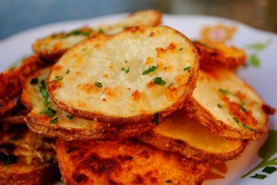 Baked Parmesan garlic fries