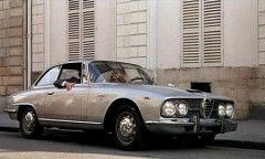 Mais aussi une Alfa Romeo 2600 Sprint de 1962