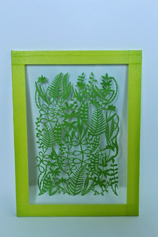 Fanzedwarf: With the ferns entre deux verres