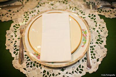 Casando Finalmente: Doilies na decoração