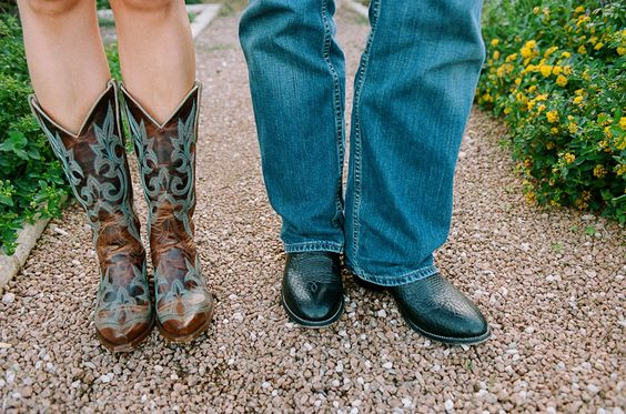 wedding cowgirl boots