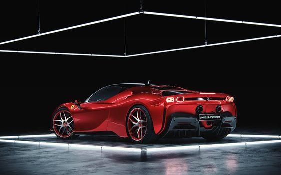 Ferrari SF90 Stradale | Full CGI on Behance