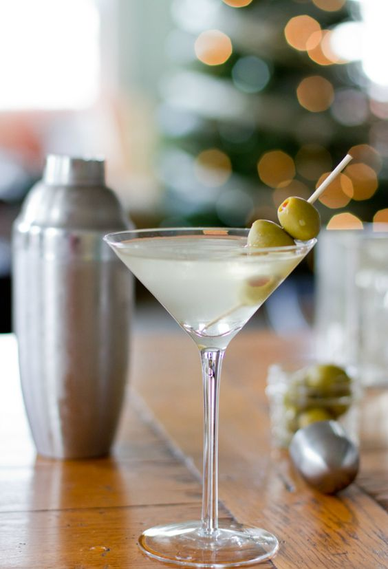 The Extra Dirty Martini. If this is not what you're doing on Friday night, you're doing it wrong.