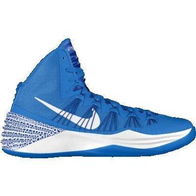 Nike Hyperdunk 2013 iD Custom Women\u0026#39;s Basketball Shoes - Blue