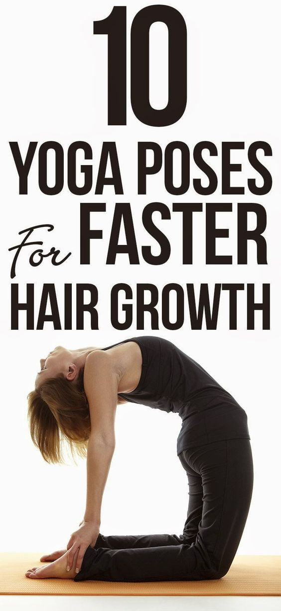 Top 10 Yoga Poses For Faster Hair Growth ~ Medihealer