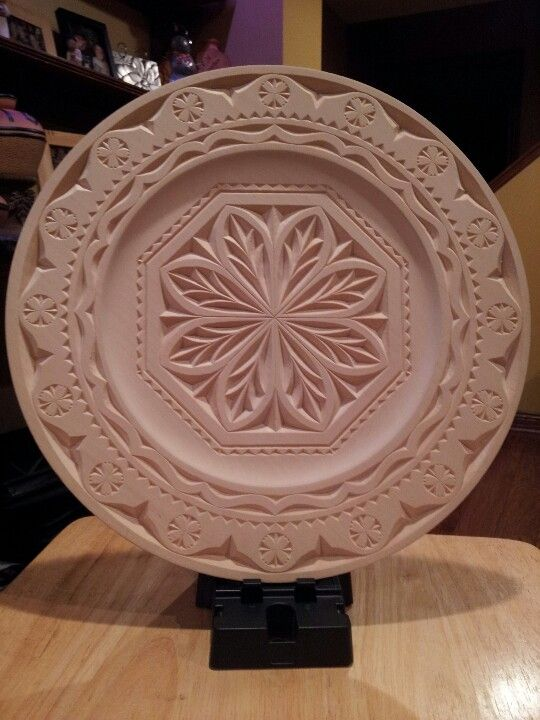Chip carved plate my projects pinterest chips and