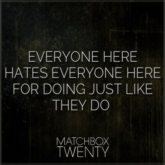 back to good // matchbox twenty