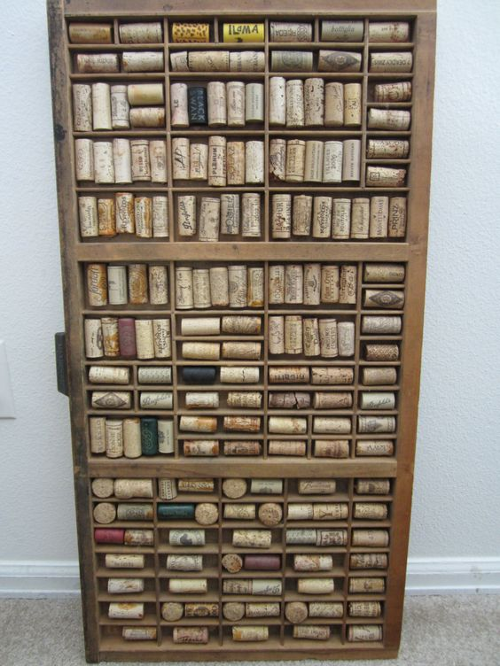 Vintage Hamilton Letterpress Printers Tray Upcycled With