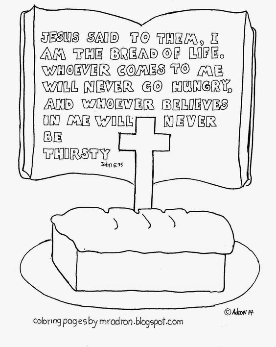 leaven bread coloring pages - photo#16