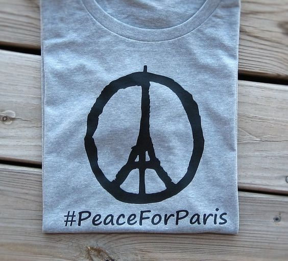 Peace For Paris Shirt, Support France Shirt, Peace For Paris T shirt, Peace For Paris Tee,  Pray For Paris Shirt, Eiffel Tower Shirt, by FunTrendyTees on Etsy